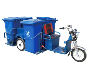 纯电动垃圾分类运输车